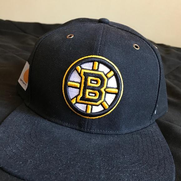 499fdbfe39f08f 47 Accessories | Brand X Carhartt Boston Bruins Snapback | Poshmark